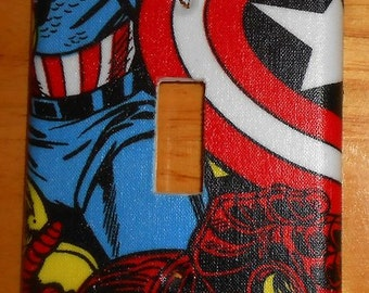 The Avengers   Light Switch Covers Outlet Covers