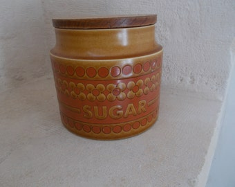 Hornsea Pottery , 1970's Sugar Canister