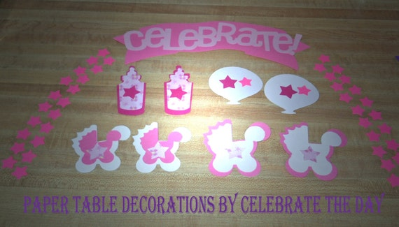 Baby Shower Party Confetti 90 Pieces