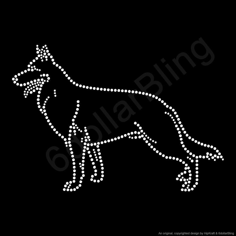 Dog Breed Iron On Transfers