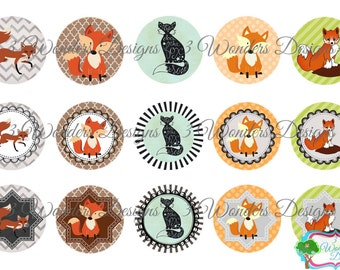 What does the fox say version 2 bottlecap image sheet