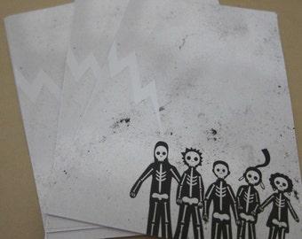 Misfits Writing Sheets