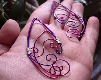 Elf Ear Cuff, Elf Ears, Ear Cuff, Elf Ear Cuffs, Elf Ear, Cosplay, Fairy Ears, Wire Elf Ears, Ear Cuff Elf