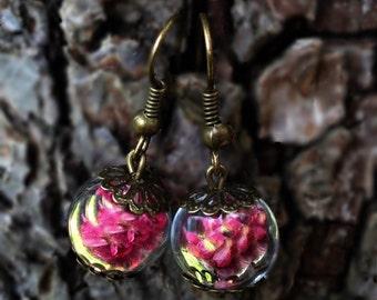 "Heather Earrings ""Be enchanted"""