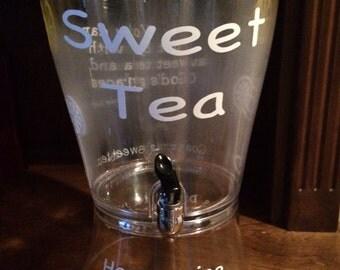 Beverage Dispenser - Sweet Tea