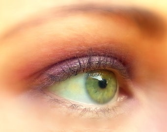 ORCHID- All Natural, Vegan Friendly Eyeshadow and Eyeliner Makeup
