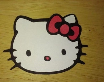 Hello Kitty Cutouts/Die Cuts/Embellishments/Scrapbooking