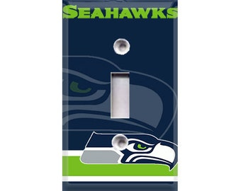 Seattle Seahawks Light Switch Cover