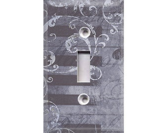 Elegant Music Light Switch Cover