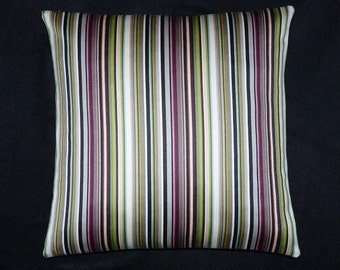 "Stripes by Paul Smith ""Modulating Stripe"" Maharam -  17"" x 17"" throw decor Pillow - includes feather insert"