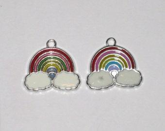 Rainbow Pendant Charm(s) Only
