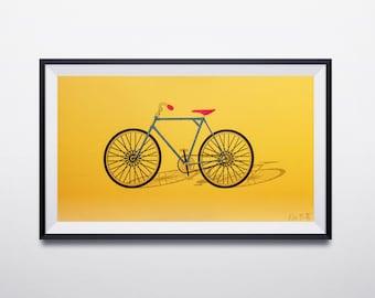 CMYK Bicycle