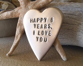8th wedding anniversary gifts pottery