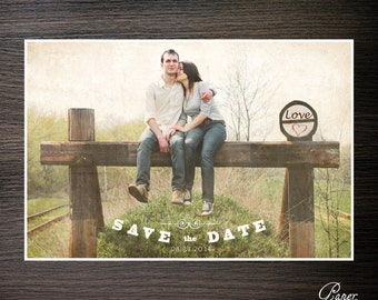 Custom Save the Dates - Digital