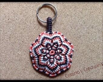 Small  Mandala Keychain