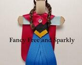 Anna Inspired Hair Clip~Frozen