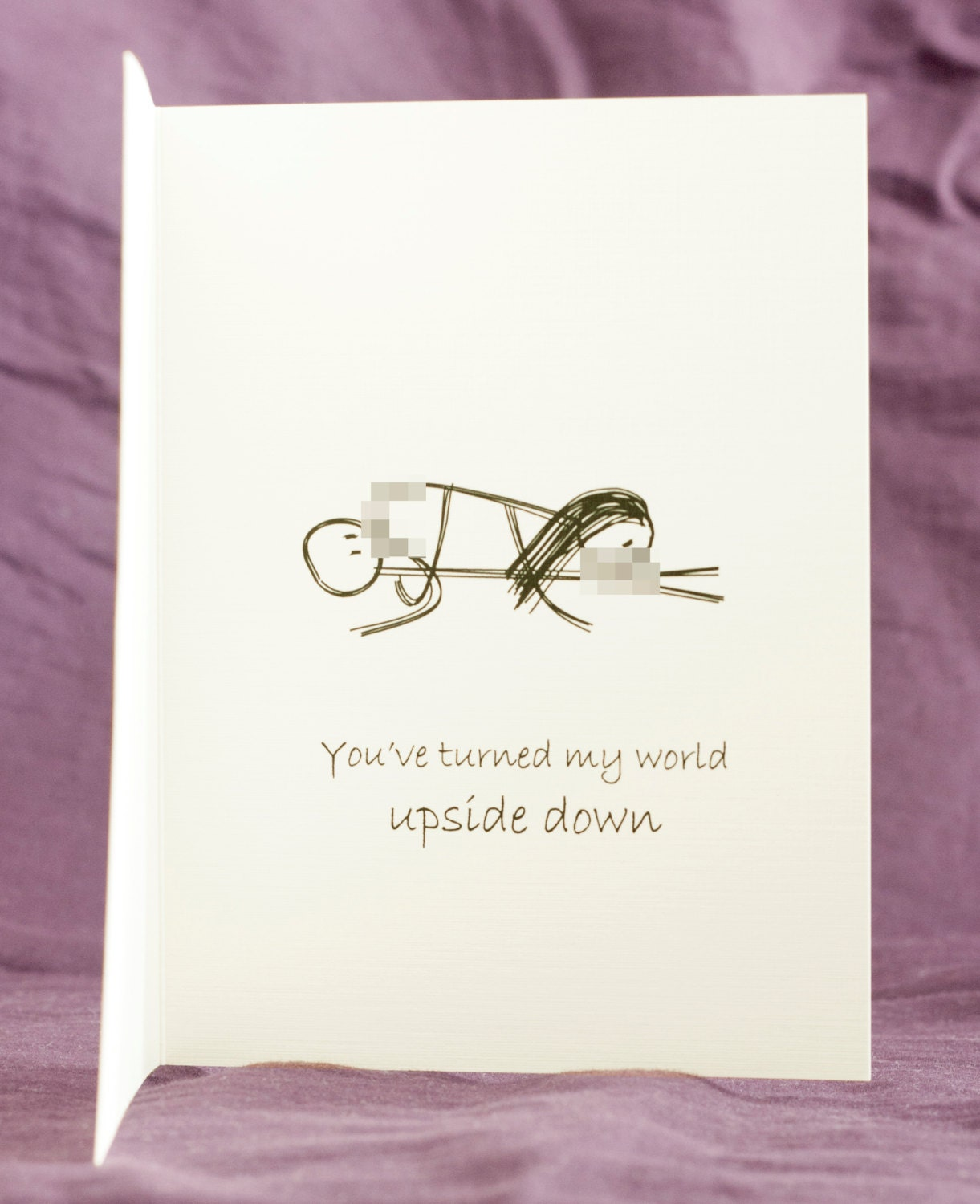 Funny Mature Adult Dirty Naughty Cute Love Greeting Card For