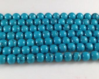 8 mm    turquoise semi precious  gemstones for  honesty bracelet infinite bracelet designer bracelet(C440)