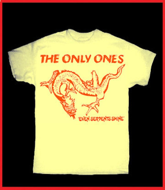 the only ones t shirt vintage repro 70 39 s rock by
