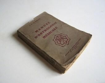 1942 manuel d'astrologie médicale, De Surany