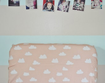 Crib Sheet Clouds. Fitted Crib Sheet. Baby Bedding. Crib Bedding. Minky Crib Sheet. Crib Sheets. Cloud Crib Sheet.