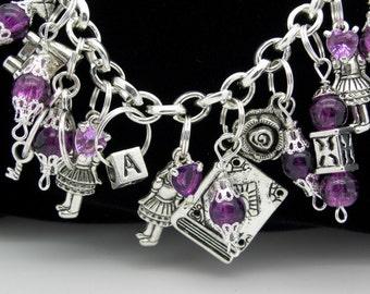Pretty Little #4  Charm Bracelet original design by Uberjewelrydesigns