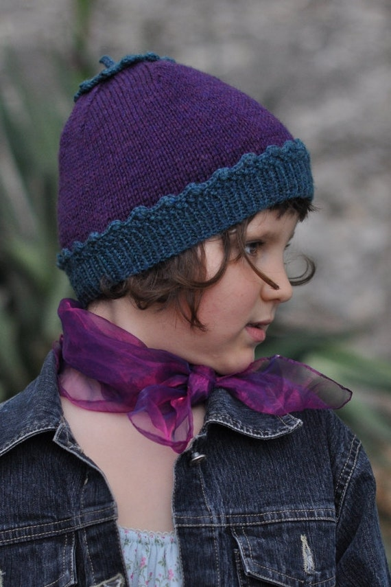 Knitting Lessons London : Sproutling hat pdf knitting pattern instructions from
