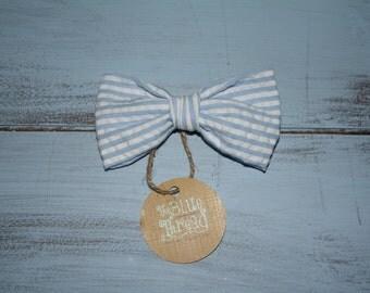 Seersuccer Bow Tie