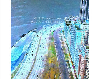 East Lake Shore Drive - 5x7 Greeting Card