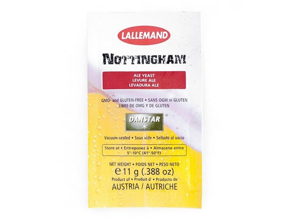 Lallemand Danstar Home Brewing Nottingham Dry Ale Yeast