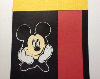 Disney's Mickey Mouse Blank Card