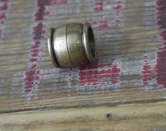 BULK - 10,3mm Antique Bronze Magnetic clasp for 10mm cord  (5 clasps)