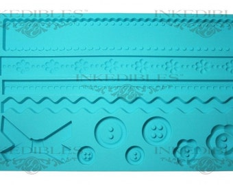 Silicone Chocolate and Fondant Mold (design 535-000)