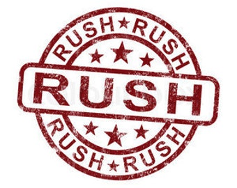 USA - 3 item rush RUSH my Order Please -  for USA