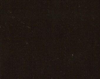 Bella Solids Black by Moda Fabrics, Yardage