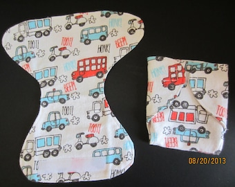 Flannel Doll diaper