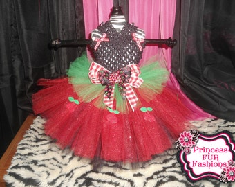 Cherry Jubilee Tutu dress