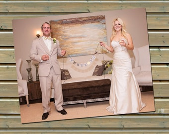 Wedding Photo Thank You Notes - 50 Printed Postcards or Note Cards with Envelopes