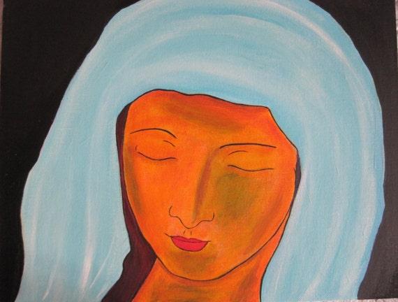 Abstract Virgin Mary 72
