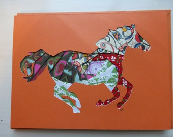 Horse Card, Chinese New Year Card