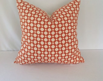 Spark/Ivory Betwixt Schumacher Pillow Cover