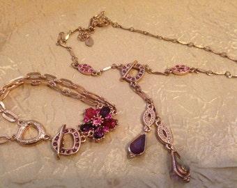 1928 Demi Parure Necklace and Bracelet