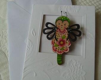 Ladybug Girl's Brooch