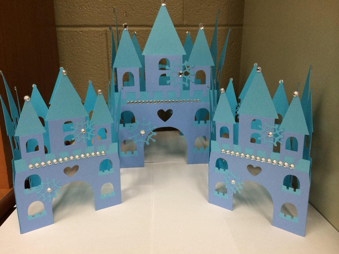 Frozen Movie Centerpieces Frozen Centerpiece Castles
