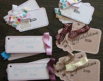 All Occasion Gift Tags, All Occasion Tag, Every Day Tag, All Occasion Gift, Gift Tag, Happy Birthday Tag,Best Wishes Tag,Congratulations Tag