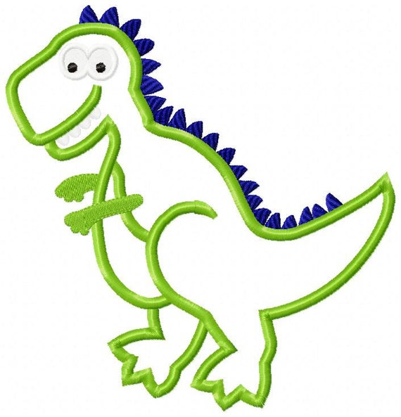 dinosaur machine embroidery designs