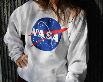 Nasa Meatball Gray Sweatshirt by Space Shirts