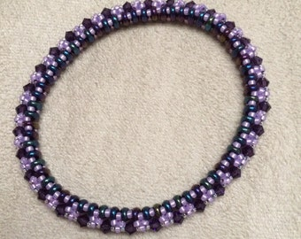 Purple and Lavender Bracelet