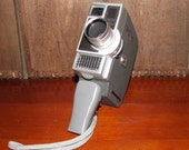 Jelco Automatic 8 8mm Movie Camera circa 1960
