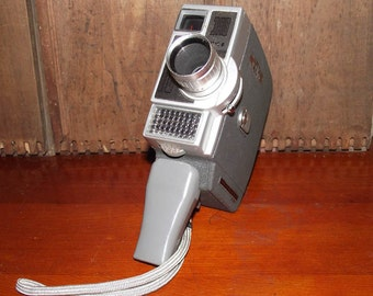 Jelco Automatic 8 8mm Movie Camera circa 1960